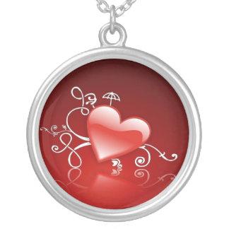Collier Graphisme de Saint-Valentin -