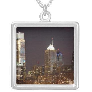 Collier Gratte-ciel modernes de Philadelphie du centre