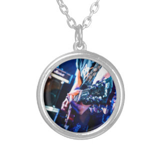 Collier Guitare de rock