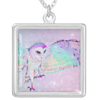 Collier Hibou majestueux