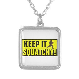 Collier Hilare gardez-le Squatchy !
