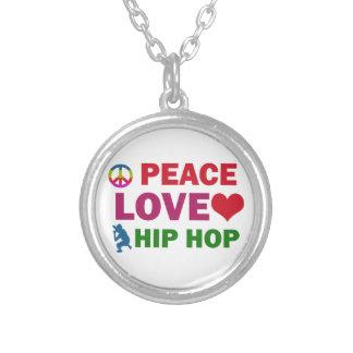 Collier Hip hop d'amour de paix