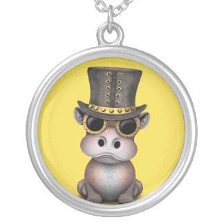 Collier Hippopotame de bébé de Steampunk