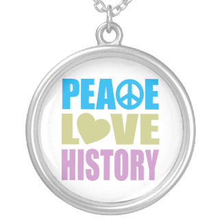 Collier Histoire d'amour de paix