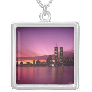 Collier Horizon de Manhattan et fleuve Hudson, New York,