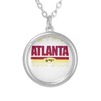 Collier Horizon grunge d'Atlanta la Géorgie