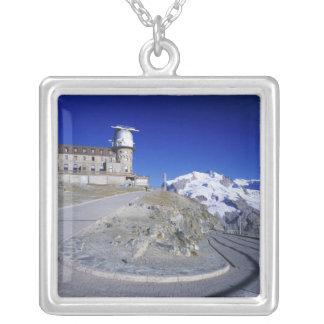 Collier Hôtel de Kulm et traînée, Gornergrat, Zermatt,
