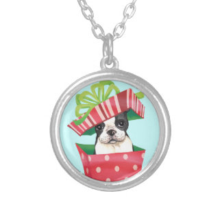 Collier Howliday heureux Boston Terrier
