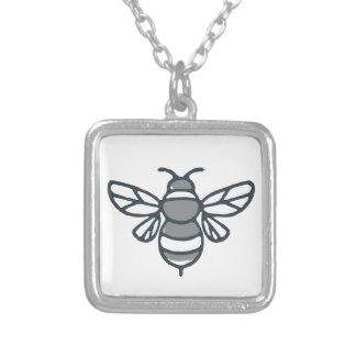 Collier Icône d'abeille de bourdon