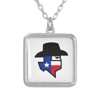 Collier Icône de drapeau du Texas de bandit
