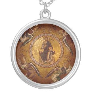 Collier Icône orthodoxe chrétienne de Pantakrator de