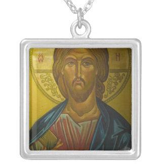Collier Icône russe à l'intérieur d'église de St Sophia/