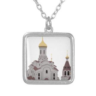Collier Illustration de cathédrale