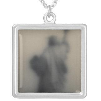 Collier Image diffuse de la statue de la liberté