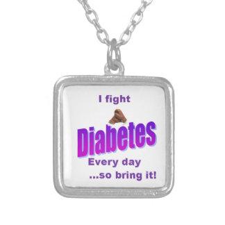 Collier J'ai le diabète, diabète ne m'a pas !