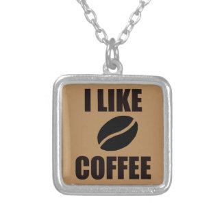 Collier J'aime le café
