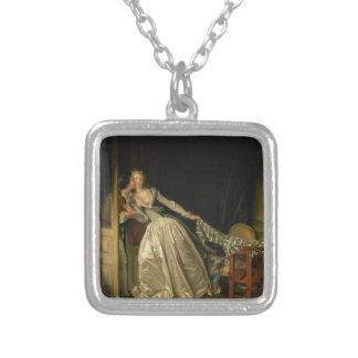 Collier Jean-Honore Fragonard - le baiser volé -