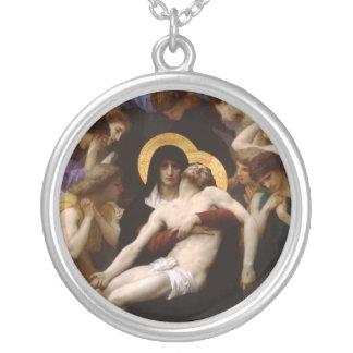 Collier Jésus-Christ et Vierge Marie de pieta