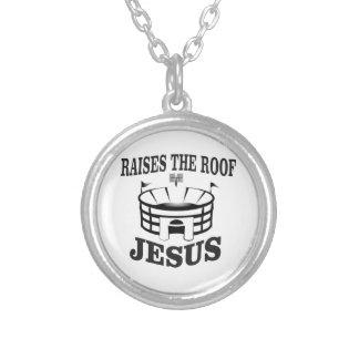 Collier Jésus soulève le toit ouais