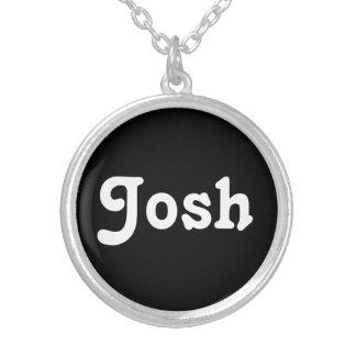 Collier Josh