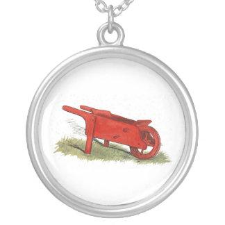 Collier La brouette rouge