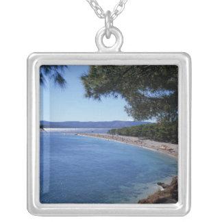 Collier La Croatie, île de Brac, Bol, plage d'or 2 de cap