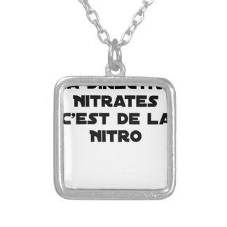 Collier La Directive Nitrates, c'est de la Nitro - Jeux de