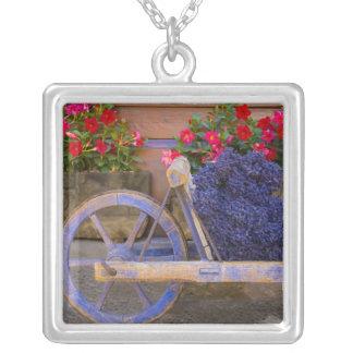 Collier La France, Provence, Sault. Vieux chariot en bois