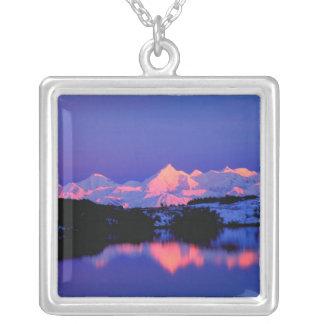 Collier La gamme d'Alaska est à côté de Mt. Denali,