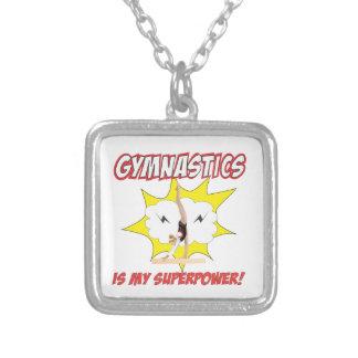 Collier La gymnastique est la ma superpuissance !