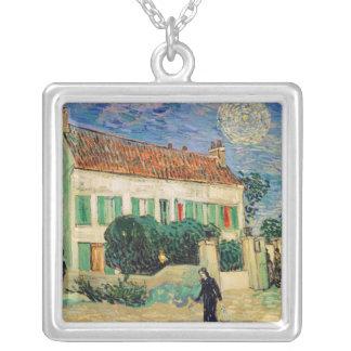 Collier La Maison Blanche de Vincent van Gogh | la nuit,