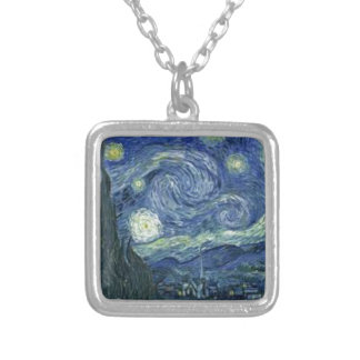 Collier La Nuit Etoilée de Van Gogh (The Starry Night)