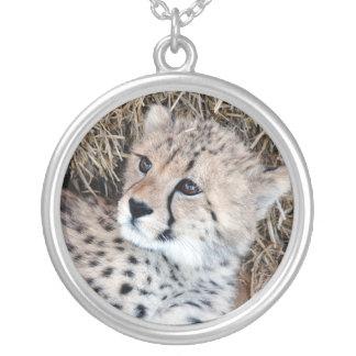 Collier La photo de CUB de guépard la plus douce