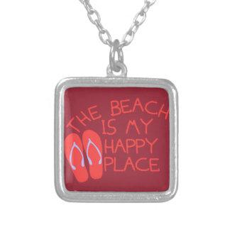 Collier La plage est mon endroit heureux