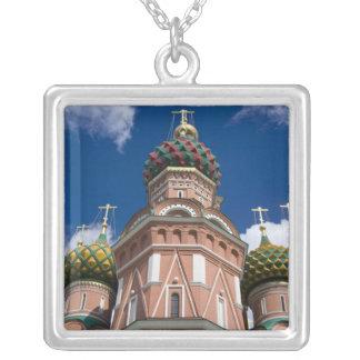 Collier La Russie, Moscou, carré rouge. St Basil 2