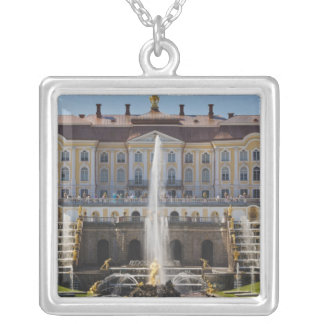 Collier La Russie, St Petersbourg, Peterhof, palais grand