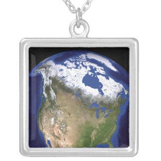 Collier La terre de marbre bleue 5 de prochaine génération