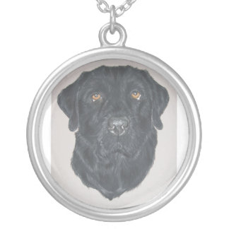 Collier Labrador noir