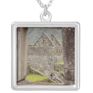 Collier L'Amérique du Sud, Pérou, Machu Picchu. Deux