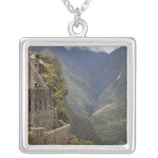 Collier L'Amérique du Sud, Pérou, Machu Picchu. Ruines de