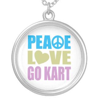 Collier L'amour de paix vont kart