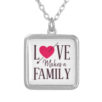 Collier L'amour fait une famille - adoption d'accueil