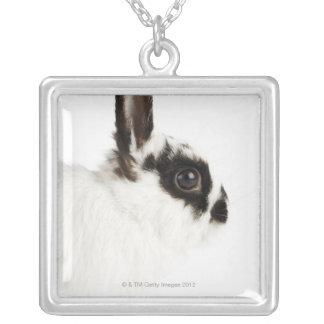 Collier Lapin Wooly du Jersey