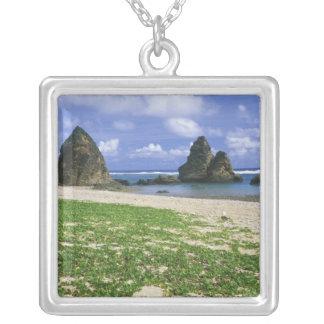Collier L'Asie, Japon, l'Okinawa, littoral de Yambaru, mer
