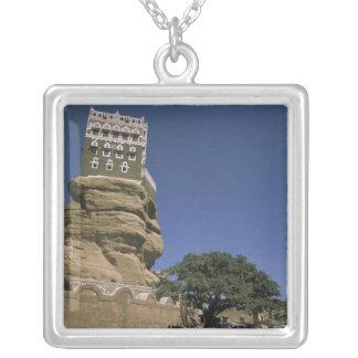 Collier L'Asie, Yémen, Wadi Dhar. Palais de roche, ou Al