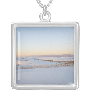 Collier Le blanc ponce le monument national, les dunes