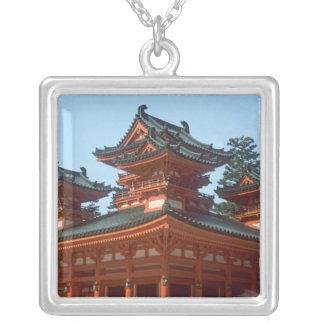 Collier Le Japon, Kyoto, temple coloré de Heian Jingu,