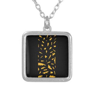 Collier Le luxe ornemente le noir d'or