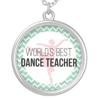 Collier Le meilleur professeur de la danse du monde -