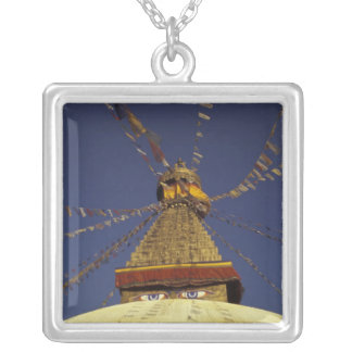 Collier Le Népal, Katmandou. Sous des drapeaux de prière,